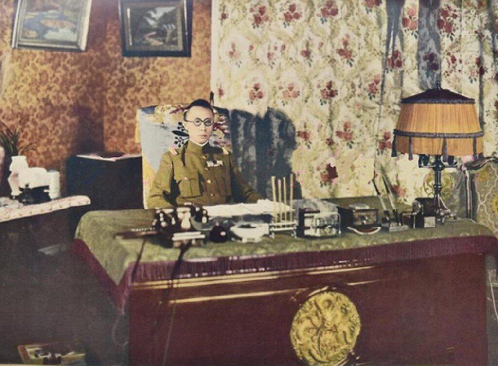 Puyi, le dernier empeser de Chine, couronné en 1934 par les Japonais empereur du Mandchoukouo. (Source : Flickr)