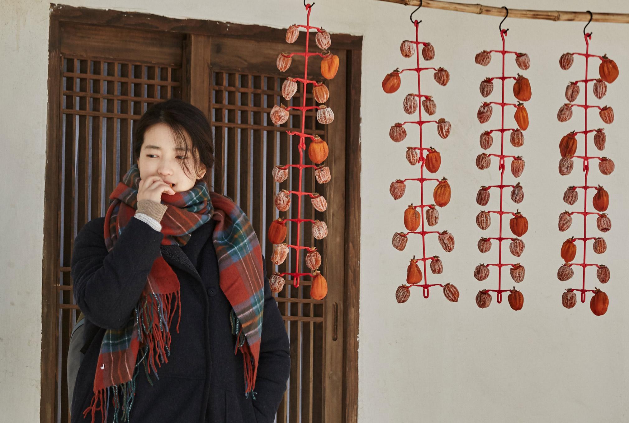 """L'actrice sud-coréenne Kim Tae-ri dans le film """"Petite Forêt"""". (Crédits : Borealiafilms)"""