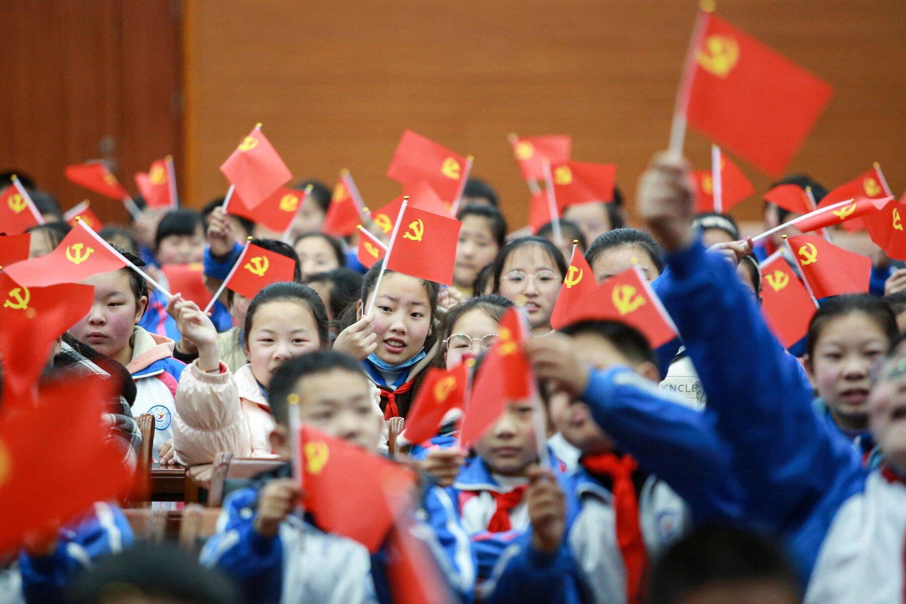 Le Parti communiste chinoise célèbrera le centenaire de sa fondation le 1er juillet 2021. (Source : NYT)