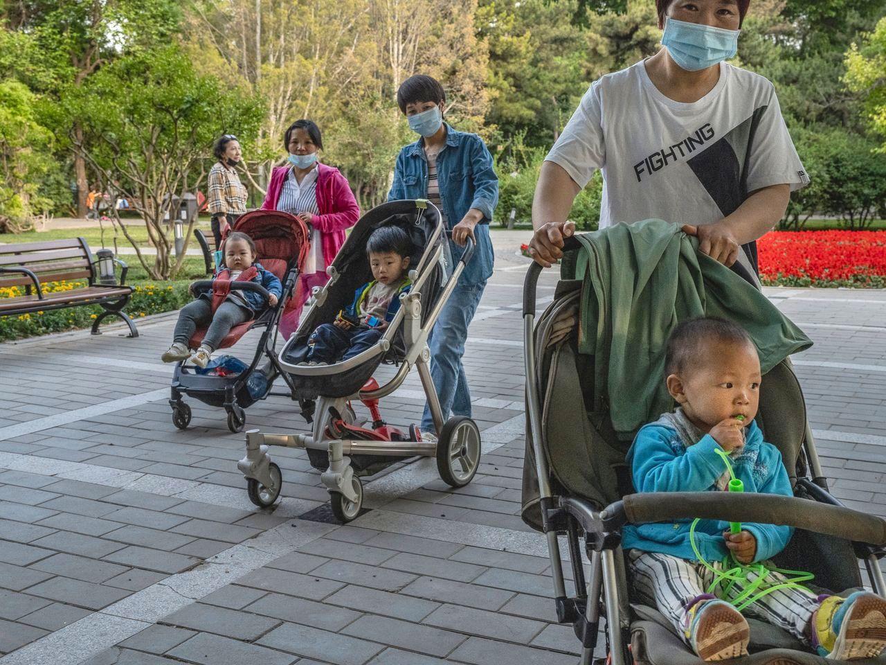 Le bureau politique du Parti communiste chinois a autorisé les familles à avoir trois enfants, le 31 mai 2021. (Source : WSJ)