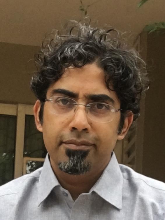 Le journaliste indien d'investigation M. Rajshekhar. (Crédit : M. Rajshekhar)