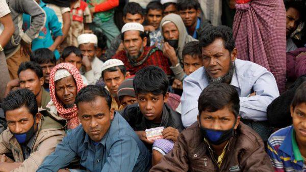Réfugiés rohingyas au Bengal-Occidental en Inde, en janvier 2018. (Source : DNA India)