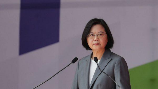 La président taïwanaise Tsai Ing-wen. (Source : FT)