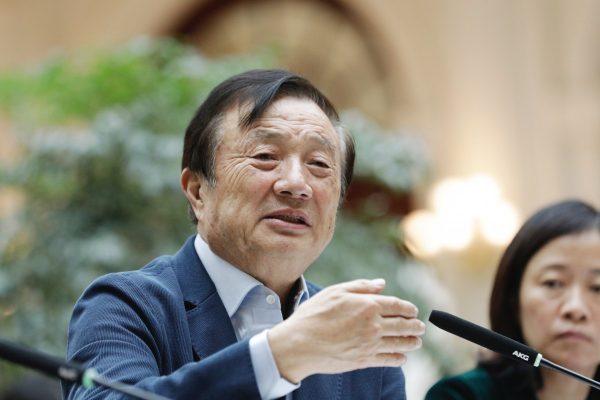 Le PDG de Huawei Ren Zhengfei. (Source : SCMP)