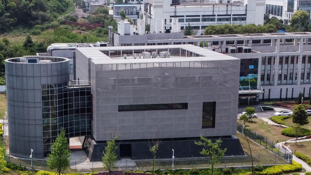 Vue aérienne de l'Institut de virologie de Wuhan. (Source : Daily Telegraph)