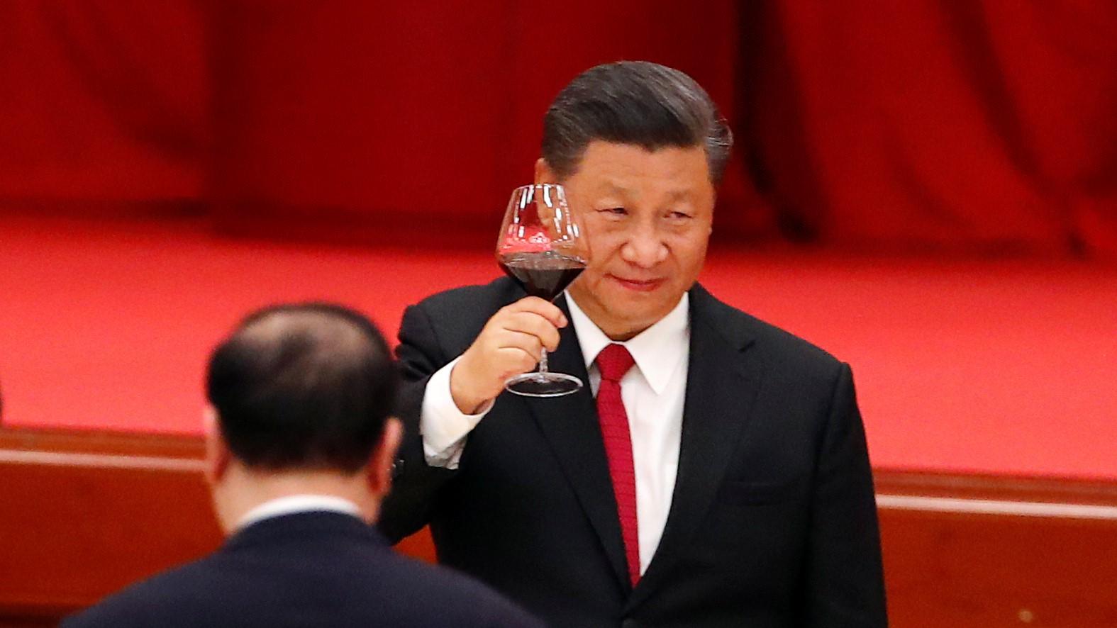 Le président chinois Xi Jinping à Pékin, le 30 septembre 2020. (Source : Asia Nikkei)