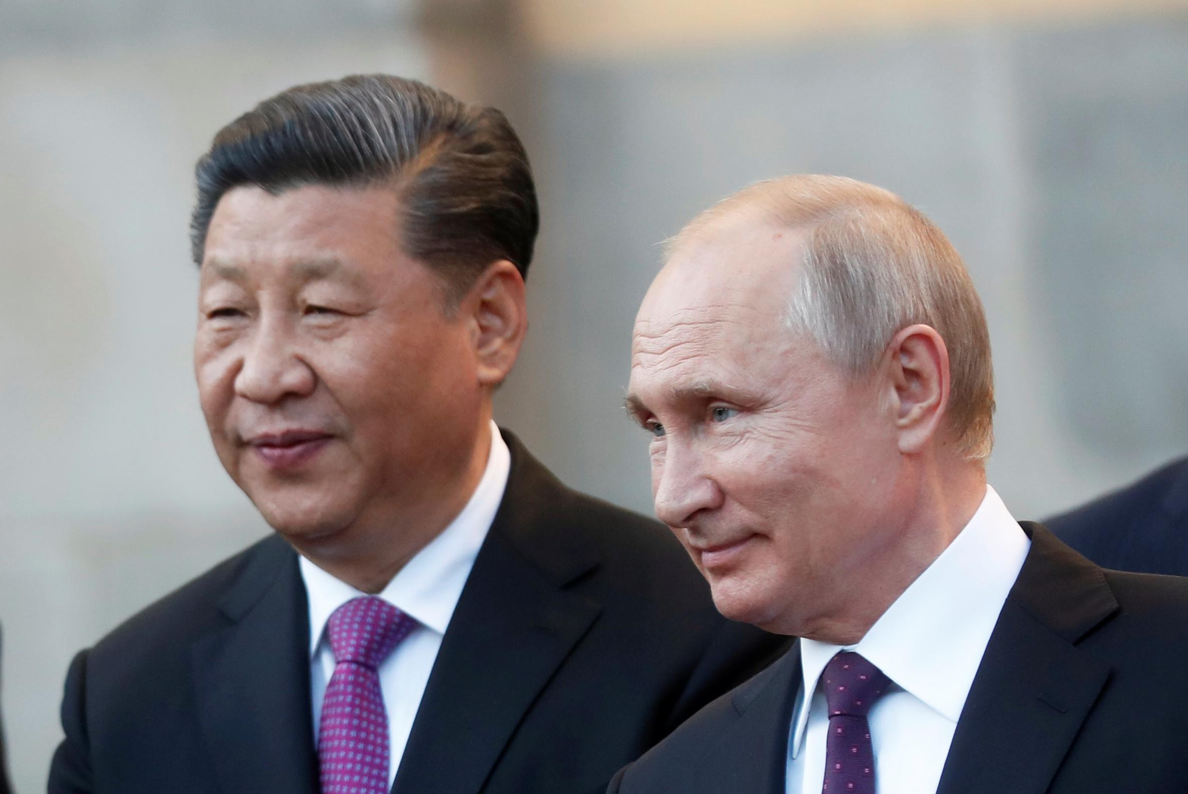 Le président chinois Xi Jinping et son homologue russe Vladimir Poutine au Kremlin à Moscou, le 5 juin 2019. (Source : National Interest)