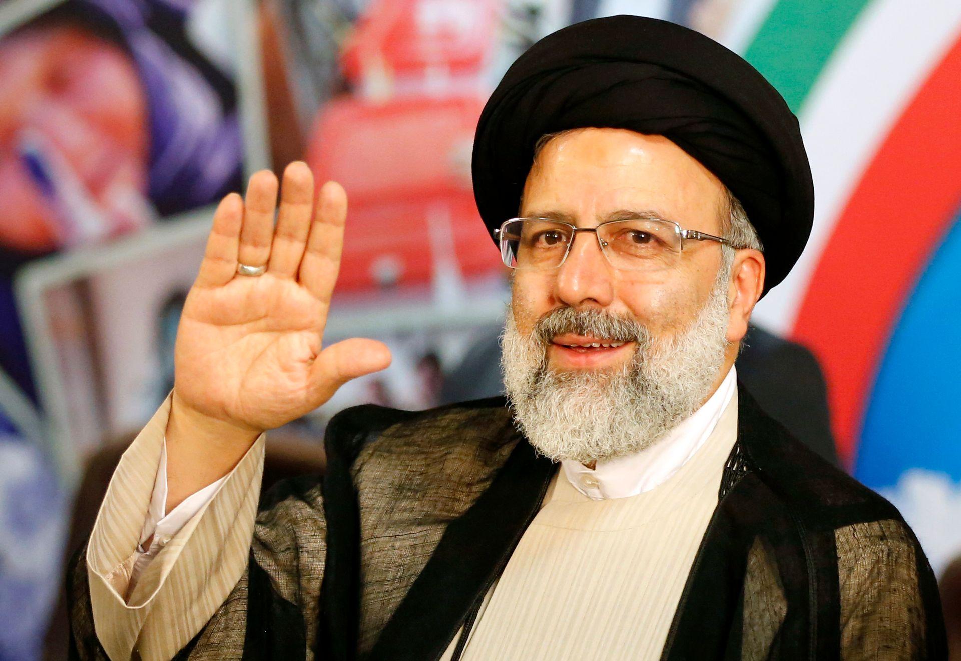 le nouveau président iranien Ebrahim Raïssi. (Source : RTBF)