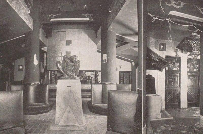 Le fameux Cafe Kuroneko à Ginza (Tokyo) dans les années 1920. (Source : Wikimedia Commons)