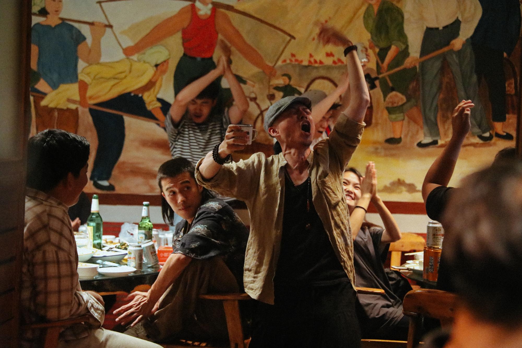 """Scène du film """"Striding Into the Wind"""" de Wei Shujun. (Crédits : Festival Allers-Retours)"""