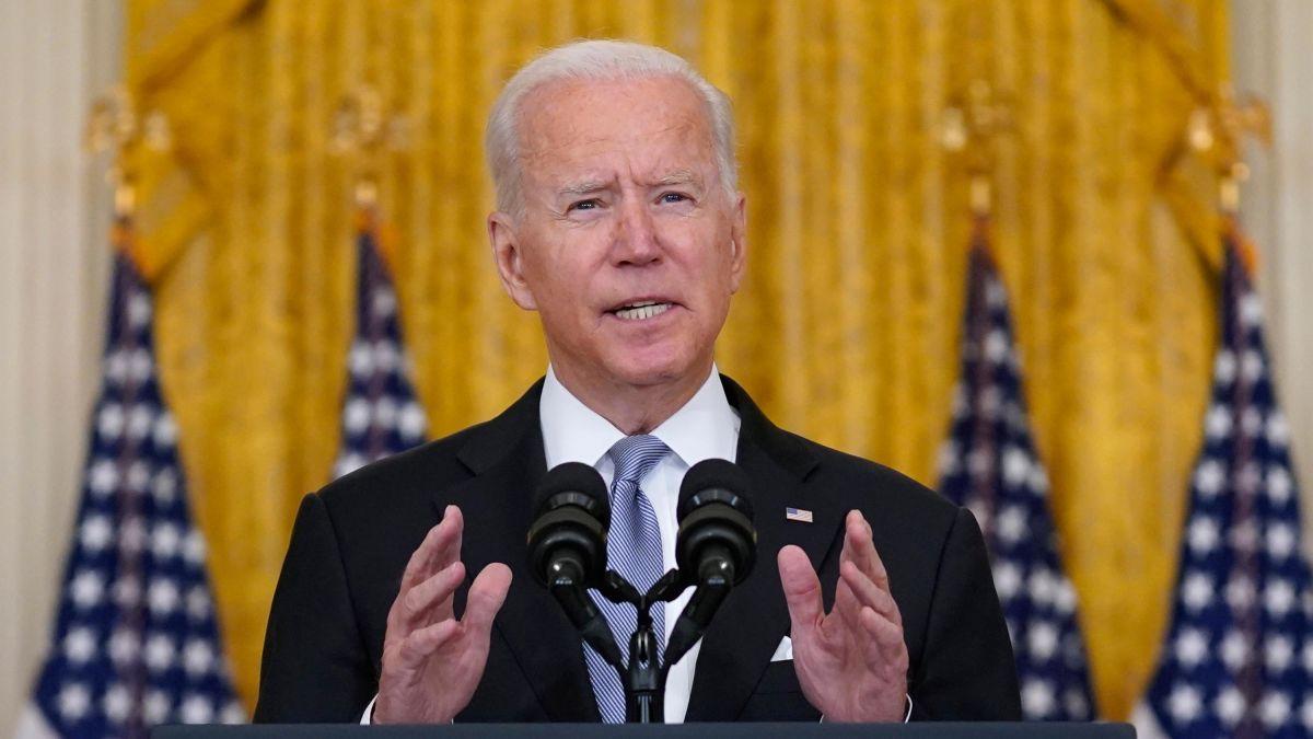 Le président américain Joe Biden. (Source : CNN)