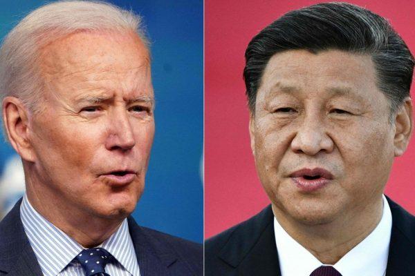 Le président américain Joe Biden et son homologue chinois Xi Jinping. (Source : SCMP)