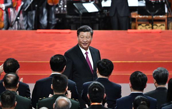 Le président chinois Xi Jinping à Macao le 19 décembre 2019. (Source : Bloomberg)