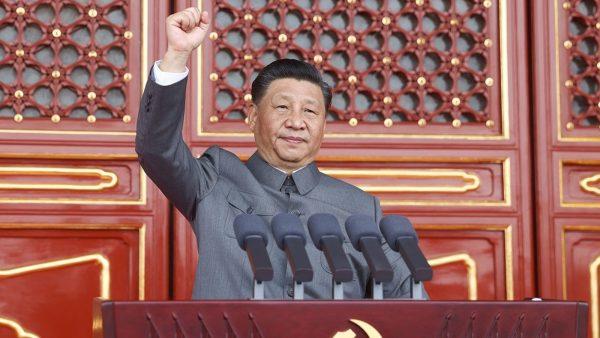 Le président chinois Xi Jinping lors des célébrations du centenaire du Parti communiste à Pékin, place Tiananmen, le 1er juillet 2021. (Source : CFR)