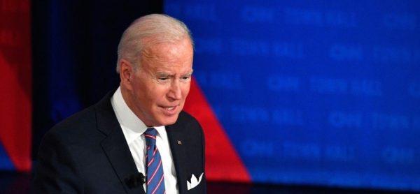 Le président Joe Biden sur le plateau de CNN, le 21 octobre 2021. (Source : SCMP)