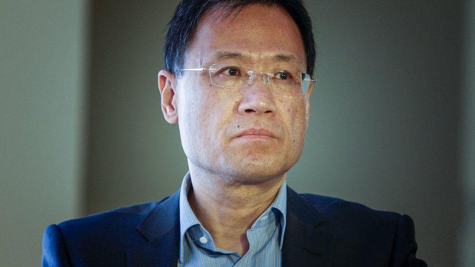 L'intellectuel chinois Xu Zhangrun, ancien professeur de droit constitutionnel à l'Université Qinghua à Pékin. (Source : BBC)